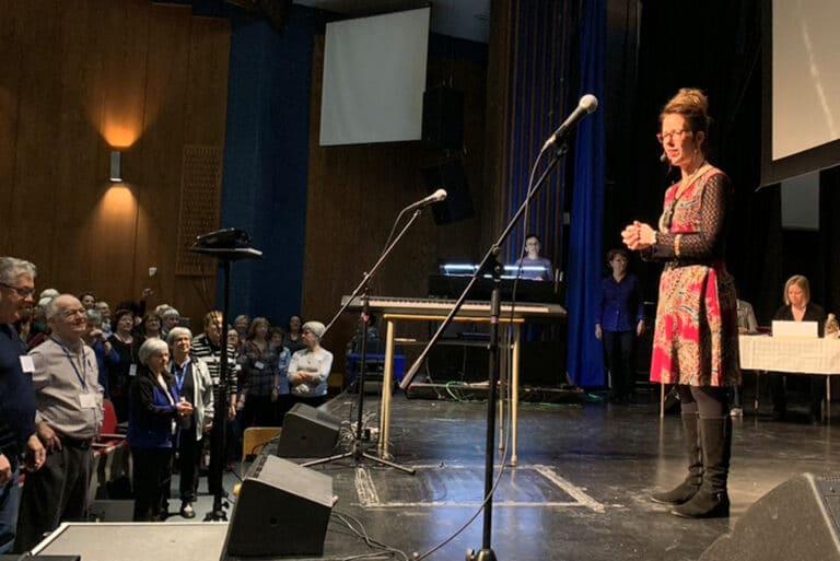 Julie Beaulieu, formatrice en technique vocale