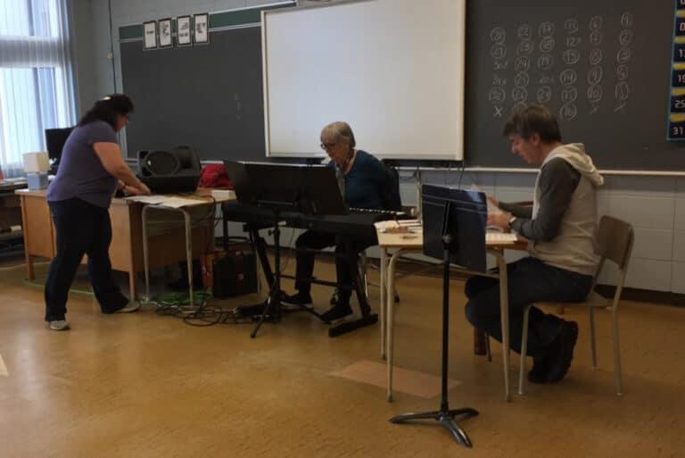 Claude Vallières, formateur en voix chantée