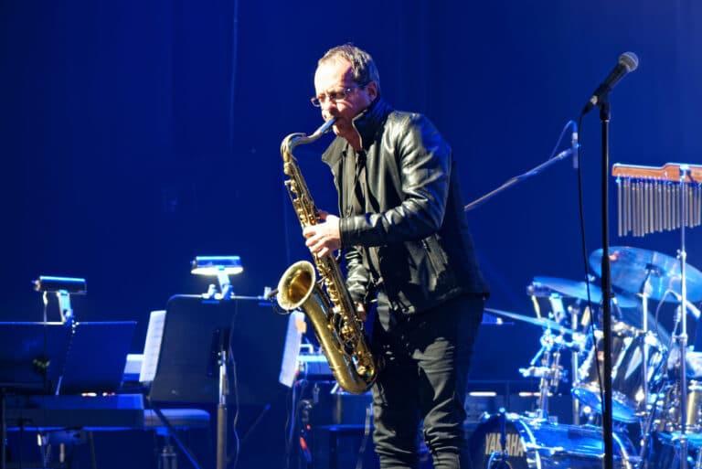 Réjean Beaudet, saxophoniste et également harmonisateur